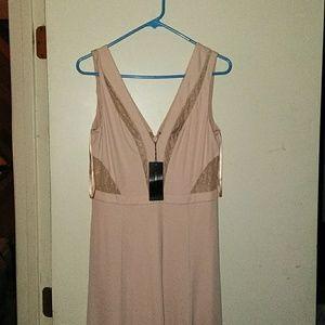 Bcbg dress long with 2 splits